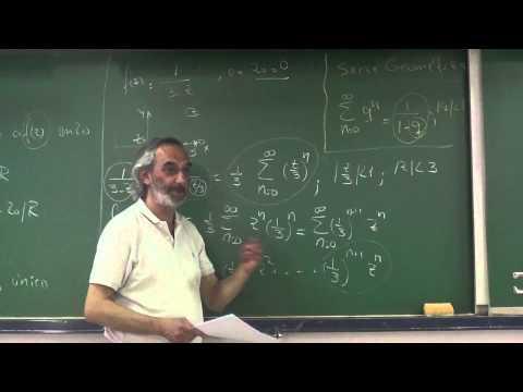 Tema 7 : Serie Taylor y Laurent  de funciones complejas. Ceros de funciones.