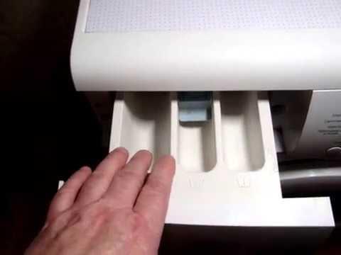 Как и куда засыпать порошок в стиральную машину