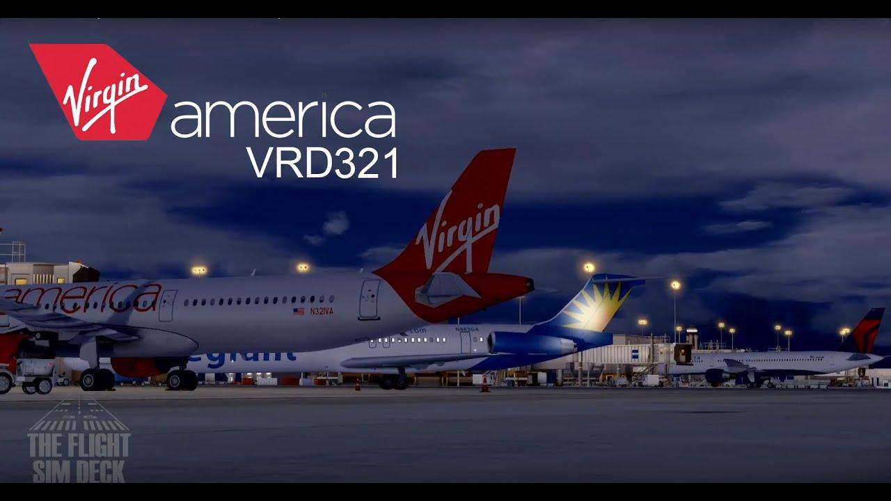 Prepar3D | Rise and Shine KFLL to KLAX | Aerosoft A321