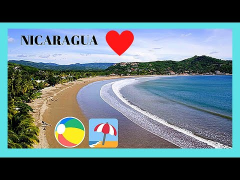 NICARAGUA, the beautiful (and disappointing) PONELOYA BEACH on the PACIFIC OCEAN