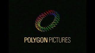 Polygon Pictures 株式会社ポリゴン・ピクチュアズ logo (1993?)