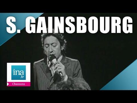 """Serge Gainsbourg """"La noyée"""" (live officiel)   Archive INA"""
