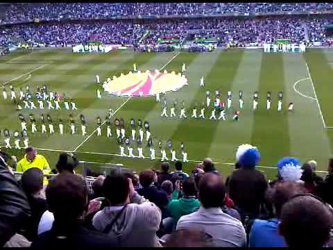 Europa League final opening ceremony