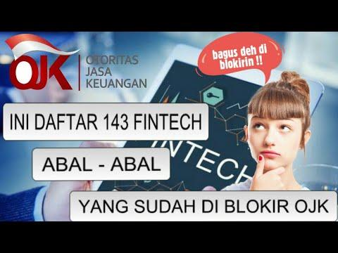Daftar list 143 Fintech/Pinjol Abal-abal yang Sudah Diblokir OJK