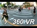 Experience Korea in 360 VR - Hongdae University In 2K  - Free Stock Footage