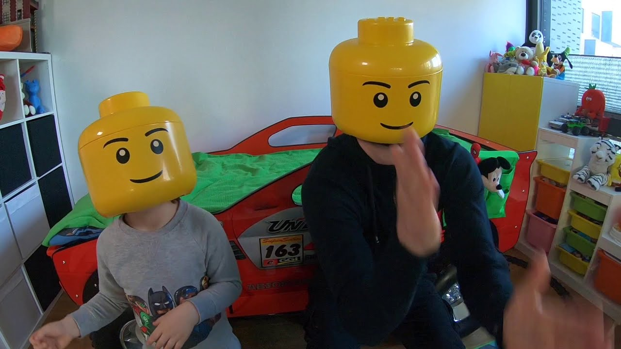 Real Life Lego Man Dance Or My Morning Routine  Timko Kid 02:44 HD