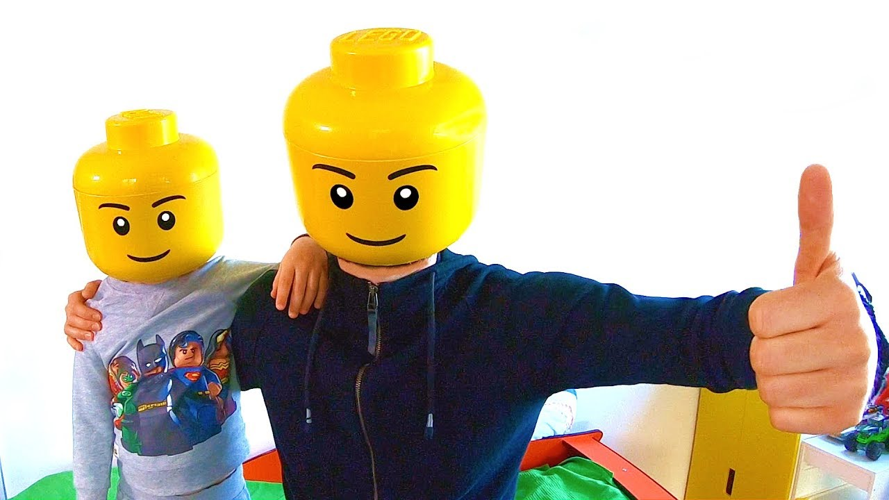 Real Life Lego Man Dance or My Morning Routine