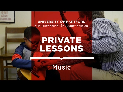 Private Music Lessons at The Hartt School Community Division