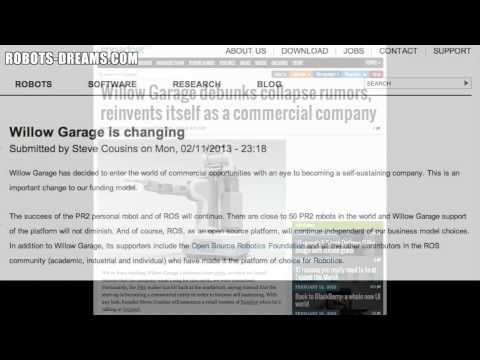 Willow Garage Shut Down Rumor Surfaces Youtube
