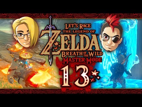 Let's Race: The Legend of Zelda: Breath of the Wild (Master Mode) - Part 13 - Foothill
