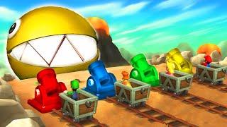Mario Party 9 - Boss Minigames! - Mario vs Peach vs Luigi vs Daisy (Master CPU)