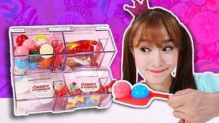 사탕 마쉬멜로우 껌볼 젤리샵 인형놀이  jelly shop 지니