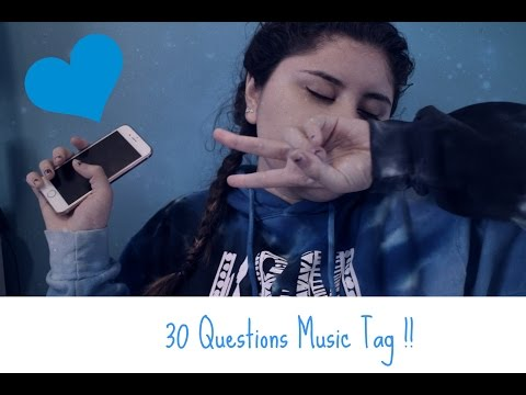 30 Questions Music Tag