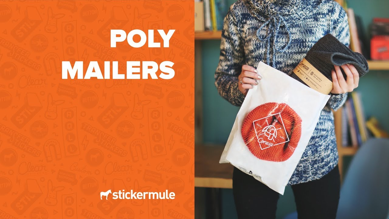 poly mailers the best way to ship soft goods youtube