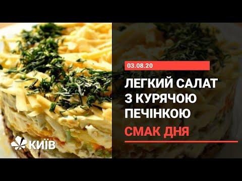Салат з курячою печінкою - покроковий рецепт від Ольги Сумської