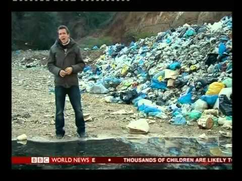 Greece waste: Mounds of filth on an island paradise