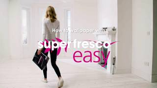 Superfresco Easy - How to Wallpaper Around a Fireplace