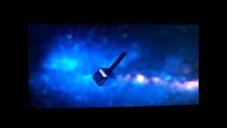 Thor Ragnarok  End credit scene, Thor's new hammer floating in space(fan made)