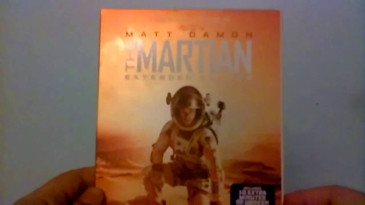 Download The Martian Extended Edition - Blu-Ray Unboxing
