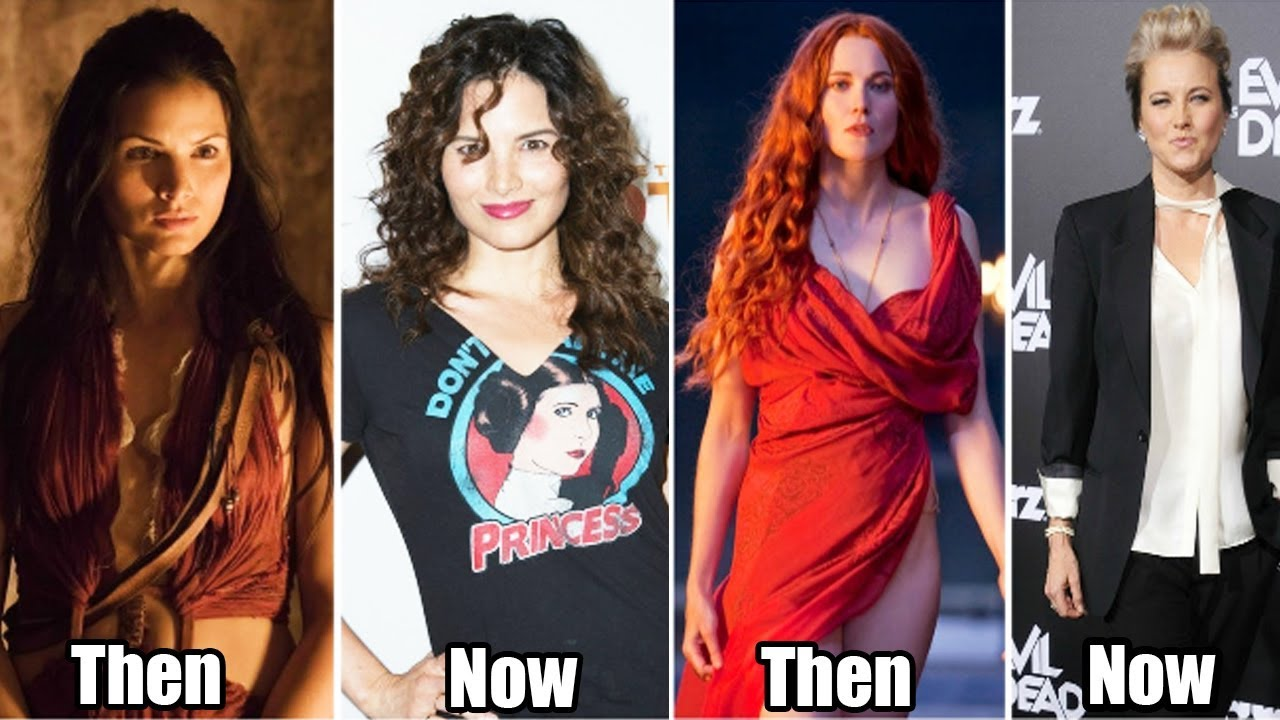 the cast of 'spartacus' what looks like now - spartacus then and now