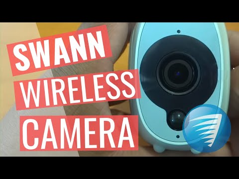 Swann Wireless Smart Security Camera review, unboxing, set up with Solar Panel, Alexa, Outdoor Mount