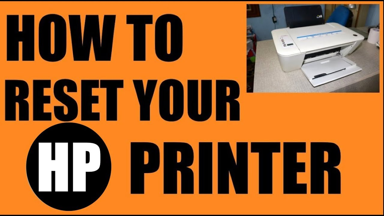 How To Reset Any Hp Printer Youtube