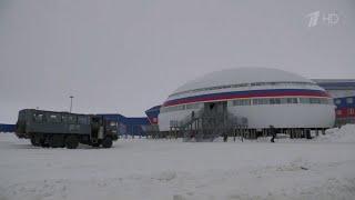 Российскую военную базу в Арктике впервые показали иностранцам.