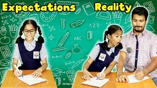 School Exams Time : Expectation Vs Reality | Pari's Lifestyle