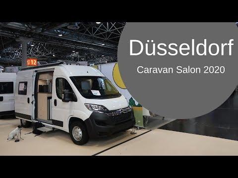 Caravan Salon Dsseldorf 2019 - Clever Campervans, Adventure Trailers, Affordable caravans