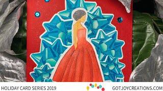 Gambar cover Got Joy Creations Holiday Card Series 2019 - Pocono Pam