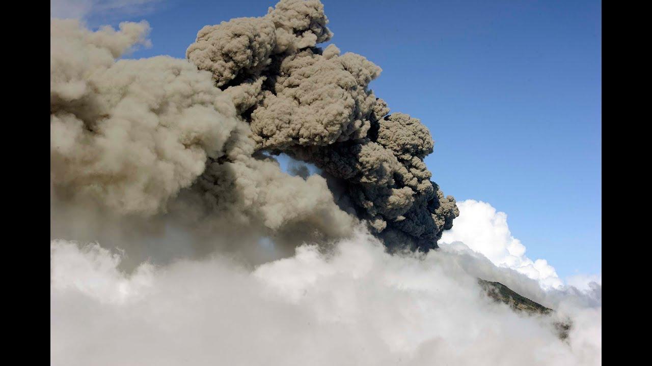 Turrialba Volcano Eruption Costa Rica Mar 13 2015