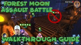 Mythic TIer Forest Moon Assault Battles Walkthrough Guide  star wars galaxy of heroes swgoh
