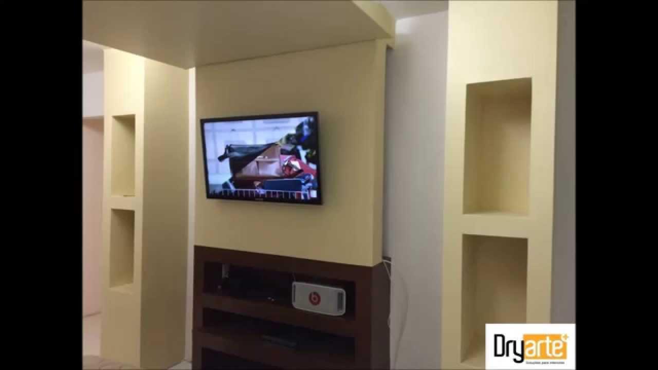 Reforma do quarto drywall  YouTube