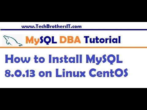 How to Install MySQL 8.0 Server on Linux CentOS – MySQL DBA Tutorial