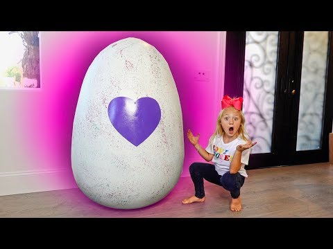 EVERLEIGH OPENS THE WORLDS BIGGEST HATCHIMALS EGG!!! You Won't Believe What's Inside!!!