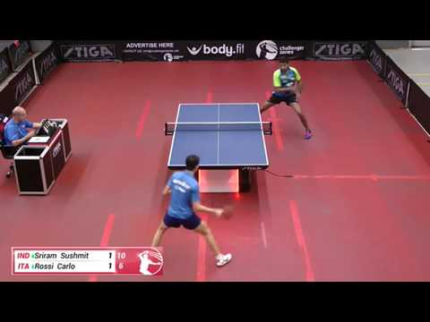 Sushmit Sriram Vs Carlo Rossi (Challenger Series August 29th 2019 Group Match)