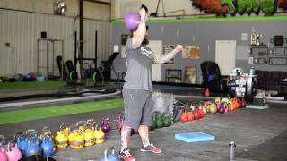 Kettlebell Overhead  Strict Press