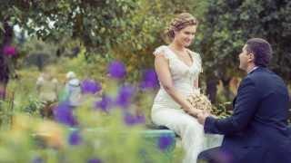 Волшебная осенняя свадьба Даши и Алексея