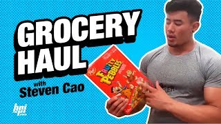 Grocery Shopping with IFBB Pro Steven Cao - BPI Nutrition