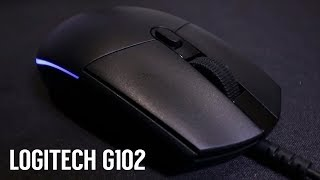 Logitech G102 Prodigy RGB Gaming Mouse (Unboxing & Review)