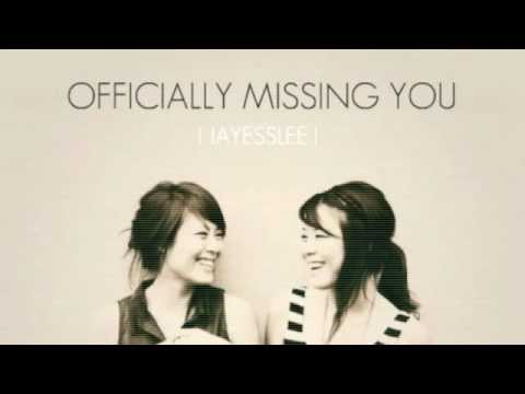 Jayesslee - Officially Missing You (Studio) - Lyric Video - Cover by Tamia