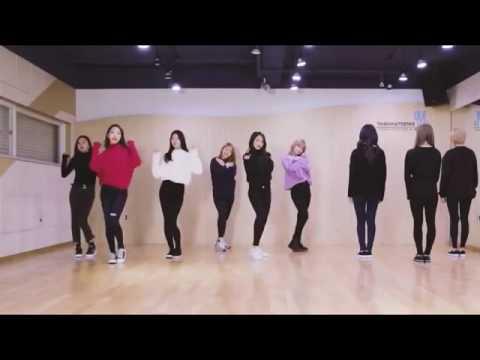 Twice JELLY JELLY dance practice mirrored