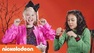 👻 JoJo Siwa & the 'School of Rock' Cast Try the 'Halloween Candy Reject Taste Test' 🍭 | Nick