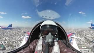 Видео 360  Генеральная репетиция воздушной части парада Победы