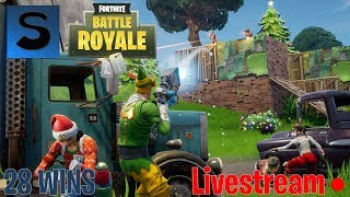 Fortnite Battle royale LV 18| 30 Wins | X-Mas update & Season 2| Giveaway at 150 Subs!