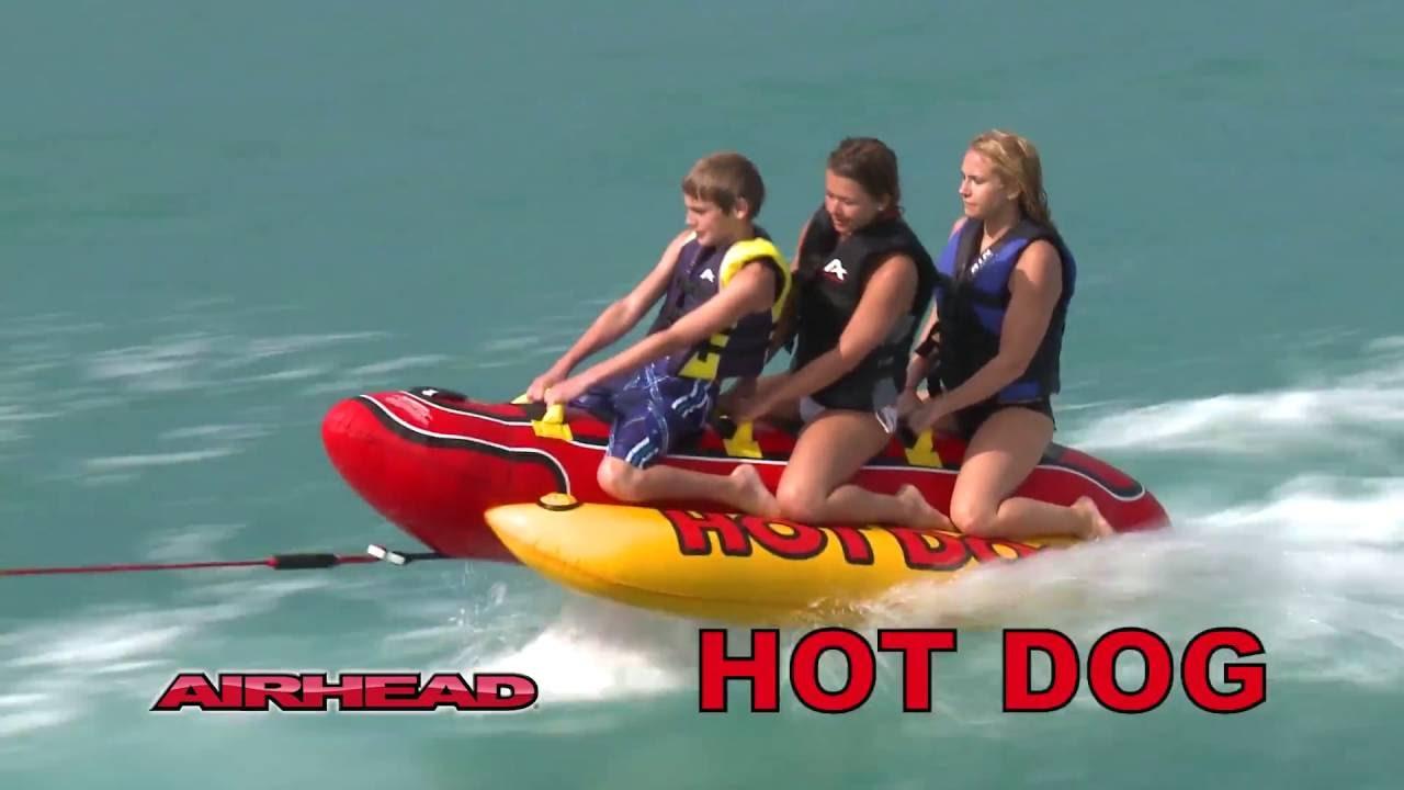 Airhead Hd  Hot Dog Towable