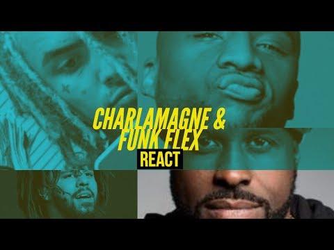 Funk Flex & Charlamagne REACT to J Cole ENDING Lil Pump Career 1985