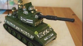 Танк BanBao 8234 - Обзор конструктора