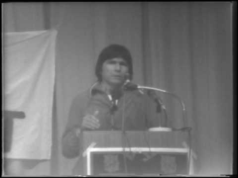 Dennis Banks at Portland State University, 1975 - Part 1