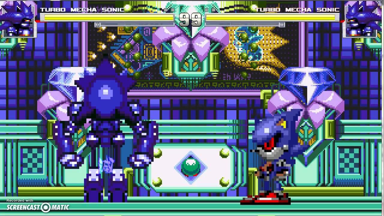 Mugen Mecha Sonic